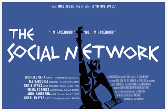 """The Social Network"" (2009), diretto da Mike Judge, starring Michael Cera via Peter Stults"