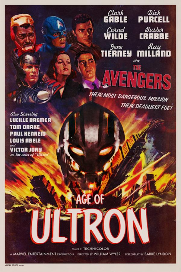 """The Avengers: Age of Ultron"" (1944), diretto da William Wyler, starring Clark Gable"