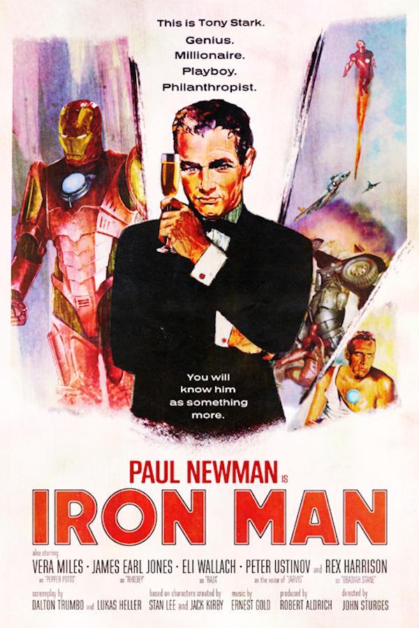 """Iron Man"" (1966), diretto da John Sturges con Paul Newman"