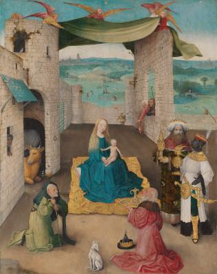 De aanbidding door de koningen_Adoration of the magi_New York, The Metropolitan Museum of Art_LR